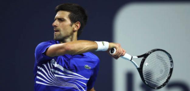 Otra victoria tibia de Novak Djokovic. Fuente: Getty