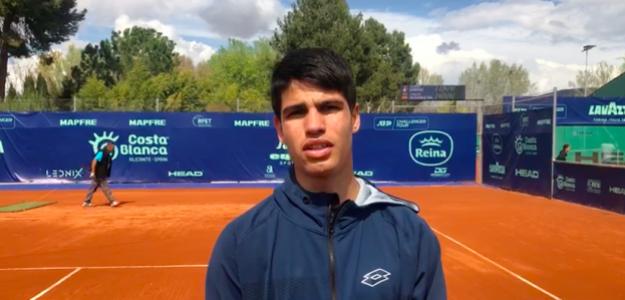 Carlos Alcaraz. Foto: Ferrero Challenger Open