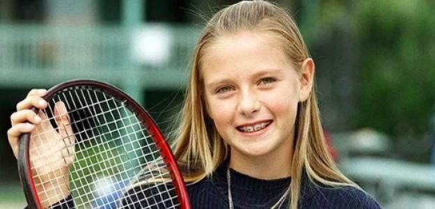 Maria Sharapova decidió a los 12 años con qué mano jugar. Fuente: Getty