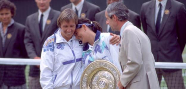 El día que Conchita pasó a la historia del tenis. Fuente: Getty