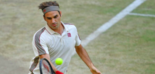 Roger Federer da otro pasito en Halle. Fuente: Getty