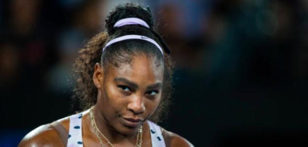Serena Williams pone su mirada en la tercera ronda del Open de Australia. Fuente: Getty