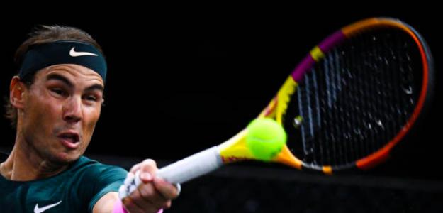 Rafa Nadal arrancó con victoria en París-Bercy. Fuente: Getty