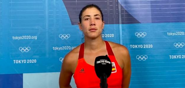 Garbiñe Muguruza, eliminada en cuartos de final. Fuente: Eurosport