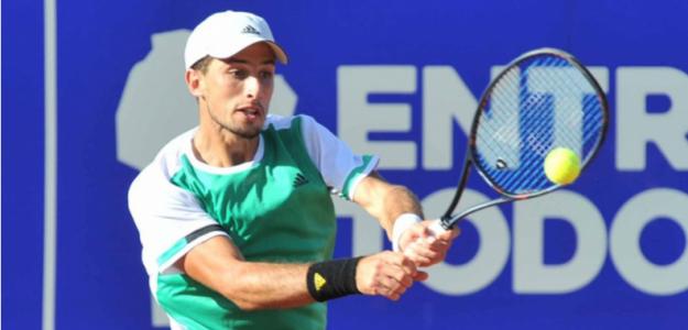 Pedro Cachín, durante el ATP de Córdoba. Fuente: Córdoba Open