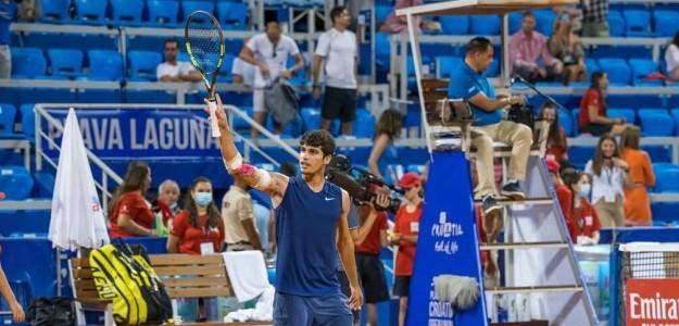 Alcaraz ganó su primer título ATP. Foto: Umag Open