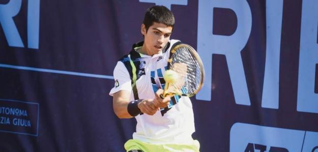 Carlos Alcaraz, resumen ATP Challenger Tour 2020. Foto: gettyimages