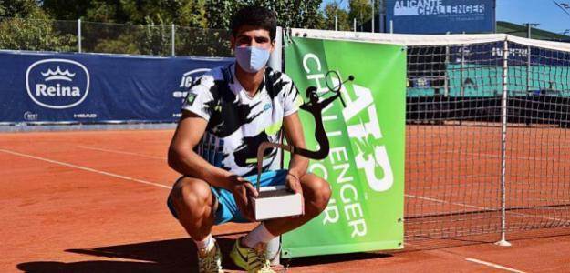 Vayamos con tranquilidad con Carlos Alcaraz. Foto: Challenger Alicante