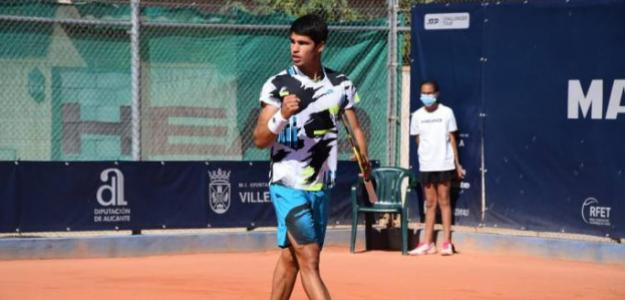 Carlos Alcaraz hace historia en ATP Challenger Tour. Foto: gettyimages