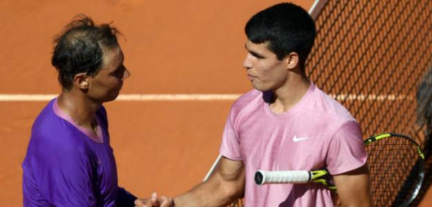 """Carlos Alcaraz: """"Este partido ha sido una experiencia muy bonita, siempre la llevaré conmigo"""". Foto: Getty"""