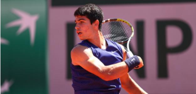 Carlos Alcaraz pierde con Jan-Lennard Struff. Foto: gettyimages