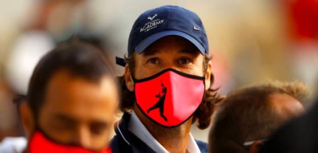 Carlos Moyá en Roland Garros. Fuente: Getty
