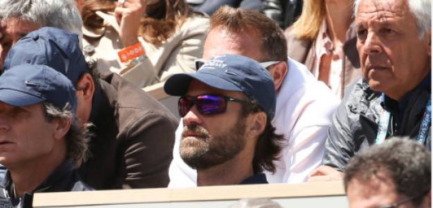 Carlos Moyà en Roland Garros 2019 con Rafael Nadal. Foto: gettyimages