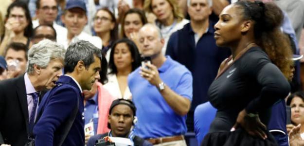 Carlos Ramos habla por primera vez tras su incidente con Serena. Foto: Getty