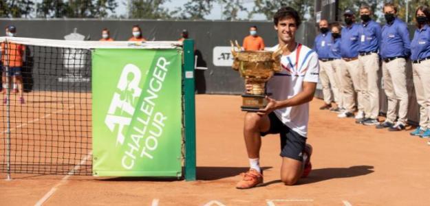 Carlos Taberner, campeón en Iasi. Fuente: ATP Challenger Tour