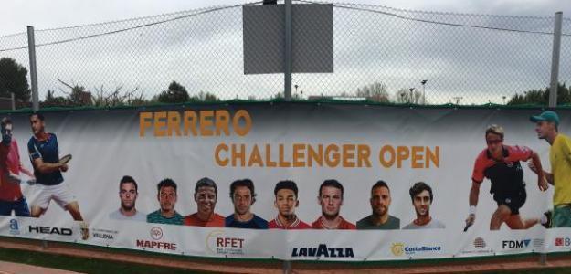 Cartel de la primera edición del Challenger Juan Carlos Ferrero. Fuente: Fernando Murciego