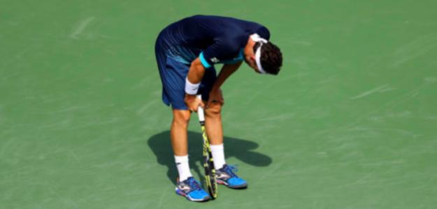 Cecchinato y su extraña relación con los Grand Slams. Fuente: Getty