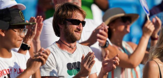 Gilles Cervara, entrenador de Daniil Medvedev. Fuente: Getty