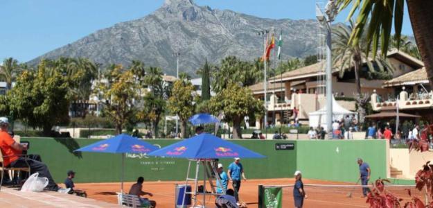 Así ha sido lo ocurrido en el Challenger de Marbella con su director y los tenistas. Foto: ATP