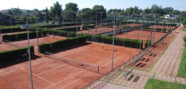 Complejo del Club de Tenis Lleida. Fuente. CT Lleida