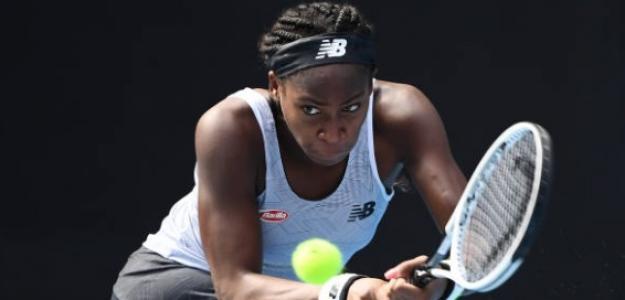 Finalizó la travesía de la jovencísima Cori Gauff por el Australian Open. Foto: Getty