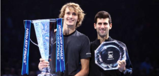 Zverev y Djokovic, ¿candidatos por igual al título? Fuente: Getty