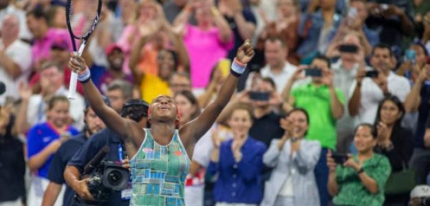 Cori Gauff causa furor en el público norteamericano. Foto: Getty