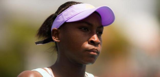 La ambición de Cori Gauff en Miami. Foto: WTA