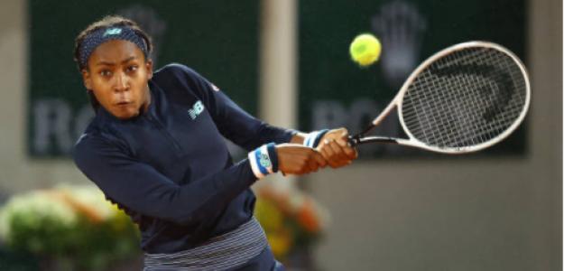 Cori Gauff y su triunfo en Roland Garros 2020. Foto: gettyimages