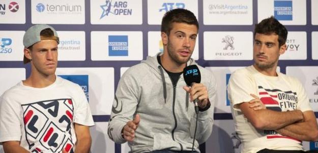 Coric contó las diferencias de los tres miembros del Big-3. Foto: Sergio Llamera / Argentina Open