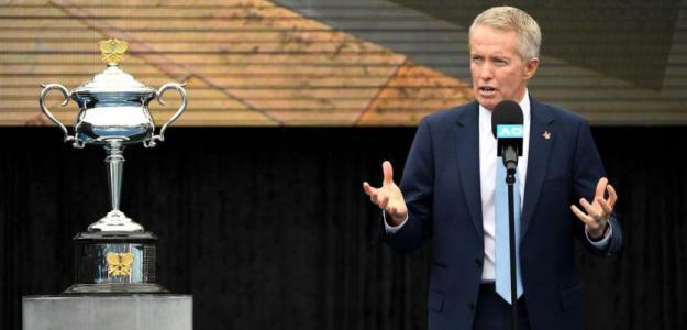 Craig Tiley, mensaje esperanzador Open Australia 2021. Foto: gettyimages