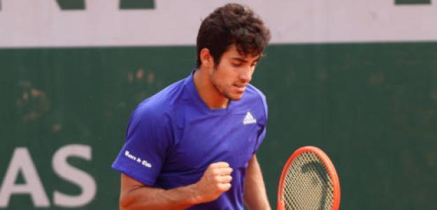 Garín es la esperanza del tenis chileno. Foto: Getty