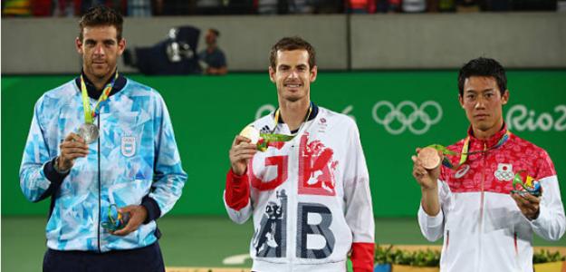Podio en los Juegos Olímpicos de Rio 2016. Fuente: Getty