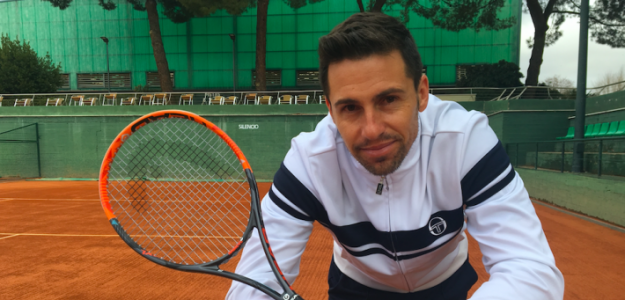 Daniel Muñoz De la Nava cuelga la raqueta. Fuente: Fernando Murciego