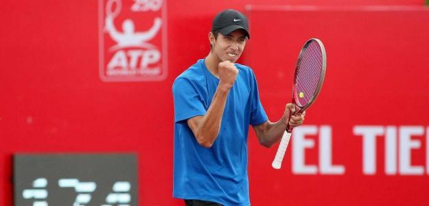 Daniel Elahi Galán, tenista vegetariano