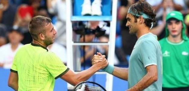Evans enfrentó a Federer en cuatro oportunidades y sufrió cuatro derrotas. Foto: Getty