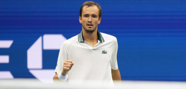 Medvedev va por el título en Nueva York. Foto: US Open