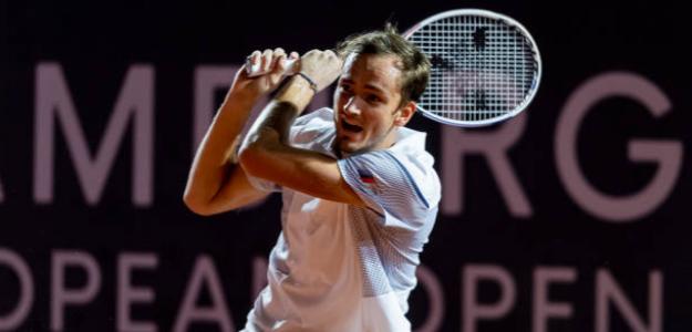 Daniil Medvedev, oportunidad para Roland Garros. Foto: gettyimages