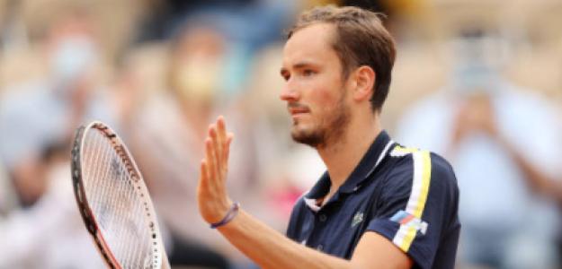 Medvedev quiere dar la campanada en Roland Garros. Foto: Getty