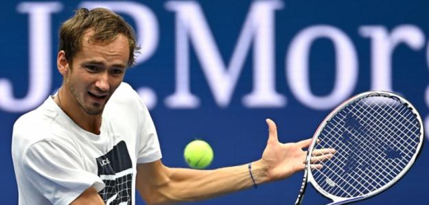 """Medvedev avisa: """"Quiero ganar el US Open"""". Foto: US Open"""