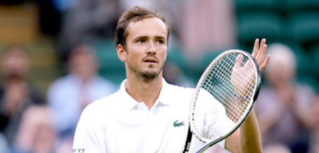 Medvedev puede ser el N°1 del mundo post Wimbledon. Foto: Getty