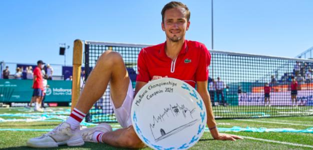 Daniil Medvedev, campeón en Mallorca. Fuente: ATP