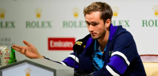 Medvedev ya prepara el torneo de Shanghái. Fuente: Getty