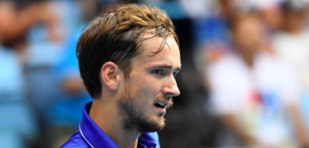 Daniil Medvedev dijo adiós al Open de Australia. Fuente: Getty