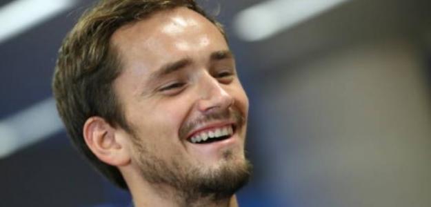 """Medvedev: """"Nunca me he imaginado la idea de pasar a Federer en la Race"""". Foto: Getty"""