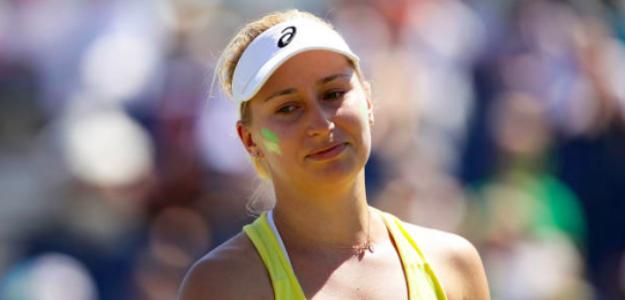 Daria Gavrilova jugando por Australia. Fuente: Getty
