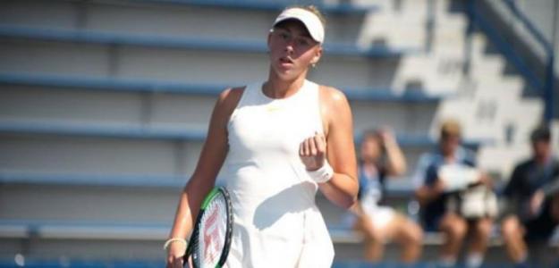 Daria Lopatetska, promesa del tenis ucraniano. Foto: zimbio