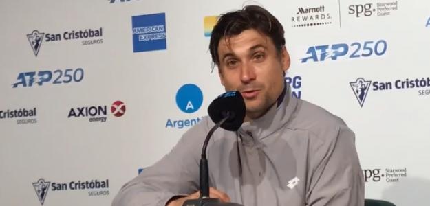 Ferrer durante su rueda de prensa en Buenos Aires. Foto: Tennis Zone