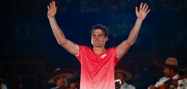 David Ferrer, despedida en ATP 500 Acapulco 2019. Foto: zimbio