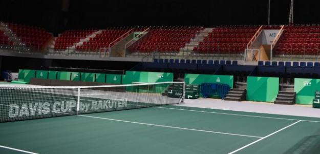Azafatas Finales Copa Davis 2019. Foto: gettyimages